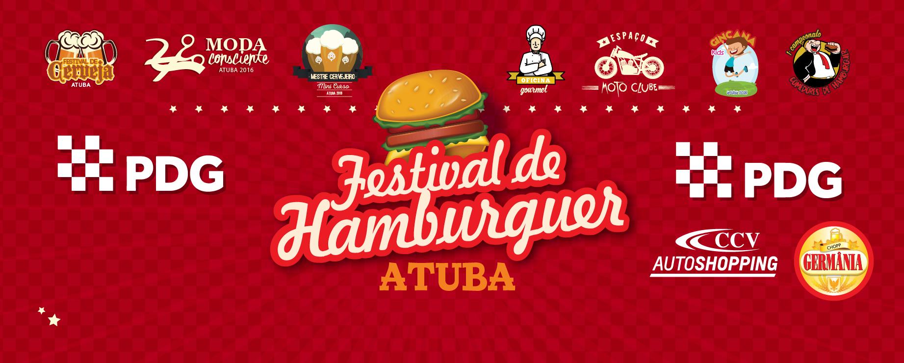 Pdg Apresenta 1º Festival Do Hamburguer Atuba